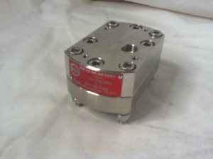 AW COMPANY JVS-15SLGFS POSITIVE DISPLACEMENT FLOW METER New in Box
