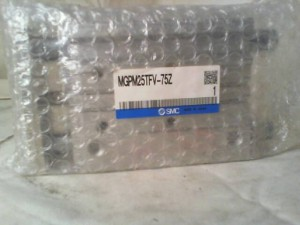 SMC MGPM25TFV-75Z GUIDE SLIDE CYLINDER New in Box