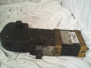 NORGREN EC63D-A-1-X41M-180A-6-5-10-0 PNEUMATIC POWER CLAMP Used
