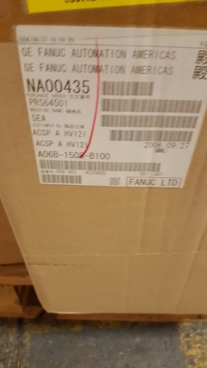 Fanuc A06B1508B100 New In Box