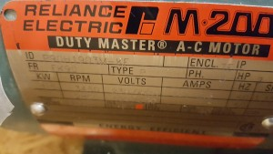 Reliance Electric P90H1903MKF New In Box