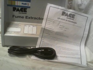 Pace ARM EVAC 200 Fume Extractor - New in Box