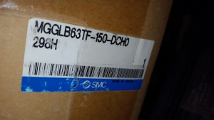 SMC MGGLB63TF-150-DCH0298H Pneumatic Guide Cylinder - Sealed in Factory Packaging