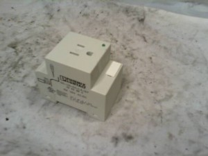 Phoenix Contact SD-US/SC/LA/GY Cabinet Socket, NEW