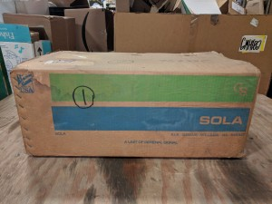 SOLA HEVI-DUTY 23-23-150-8 CONSTANT VOLTAGE POWER CONDITIONER TRANSFORMER CVS 500VA NEW