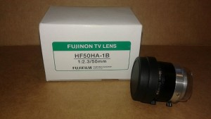 FUJINON HF50HA-1B TV LENS New in Box