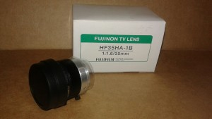 FUJINON HF35HA-1B LENS New in Box
