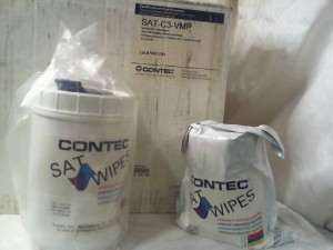 Contec SAT-C3-VMP Wipes - New in Box