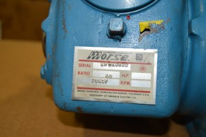 MORSE 20GSF GEAR REDUCER Used