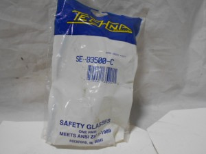 TECHNA SEB3500C SAFETY GLASSES NEW IN BOX