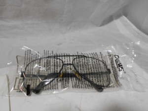 CREW 62110 SAFETY GLASSES NEW IN BOX