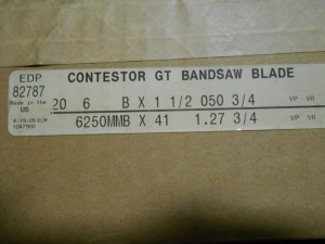 LENOX 82787 BANDSAW BLADE NEW IN BOX