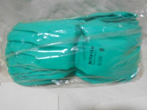 ANSELL 376-50 NITRILE GLOVE SIZE 8 (12/PKG) NEW IN BOX