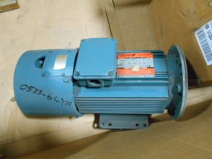 RELIANCE ELECTRIC P18A6104RCB MOTOR USED