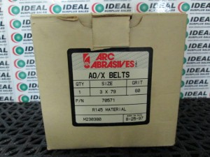 ARC ABRASIVES 70571 ABRASIVE BELT NEW IN BOX