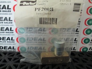 PARKER PF200B VALVE NEW IN BOX