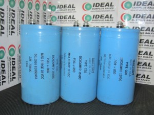 MALLORY 180000MFD CAPACITOR USED