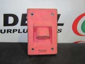 CROUSE HINDS X89704 RECEPTACLE NEW