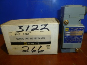 SQUARE D 9007C66G Limit Switches