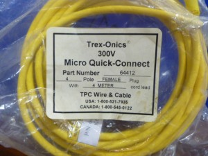 TPC WIRE & CABLE 64412 CABLE NEW IN BOX