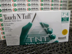 TOUCH N TUFF 92500 GLOVES NEW IN BOX