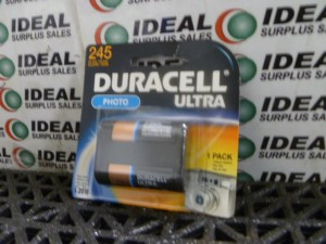 DURACELL DL245BU CAMERA BATTERY NEW IN BOX