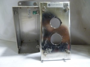 ALLEN BRADLEY 800H2HA4T ENCLOSURE USED