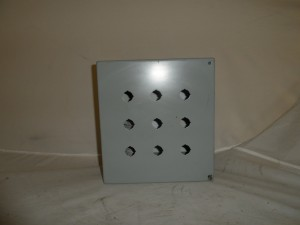 HOFFMAN E9PBY25M ENCLOSURE USED